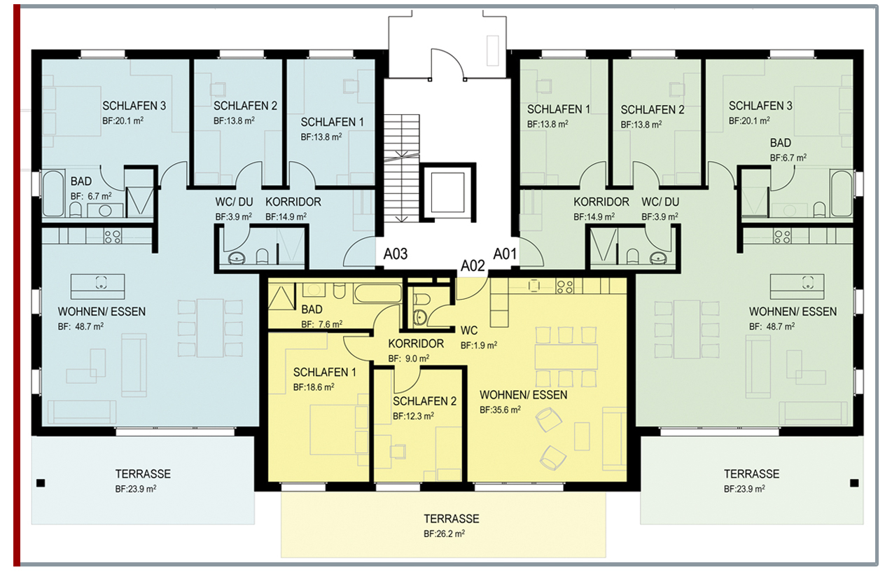 4 1 2 zimmer wohnung ziegelfeld mietwohnungen niederbuchsiten so. Black Bedroom Furniture Sets. Home Design Ideas